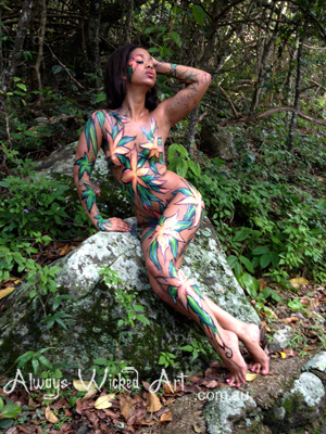 Body Painting Glamour Shoot Gold Coast Brisbane Melbourne Australia
