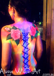 Body Painting UV Brisbane