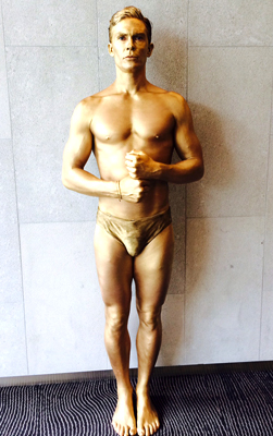 Logies Living Statues Metallic Body Painting Melbourne
