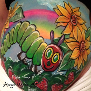 Hungry_Caterpiller_Baby_Bump_Body_Art