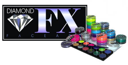 DIAMOND FX QUALITY FACE PAINT Body Paint and Face Painting Products - Australia