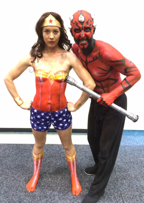 Darth-Maul-Wonder-Woman-Body-Painting-Comicon-Cosplay-Supernova-Brisbane-Gold-Coast-Melbourne